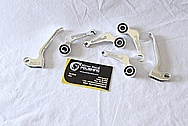Aluminum Bicycle Paul Brake Levers AFTER Chrome-Like Metal Polishing and Buffing Services / Restoration Services