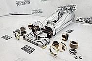 Vintage Japanese 120mm Big Eye Binoculars AFTER Chrome-Like Metal Polishing and Buffing Services / Restoration Services - Binocular Polishing - Aluminum Polishing - Steel Polishing