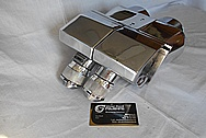 1930's WWII Aluminum Binoculars AFTER Chrome-Like Metal Polishing and Buffing Services