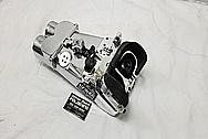 Vintage 12x60 Aluminum Body Navy Vessel Binoculars AFTER Chrome-Like Metal Polishing and Buffing Services - Aluminum Polishing - Binocular Polishing
