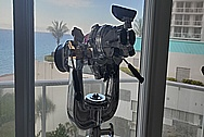 Vintage USA Navy Vessel Aluminum Binoculars and Cast Iron Stand AFTER Chrome-Like Metal Polishing and Buffing Services / Restoration Services - Binocular Polishing - Aluminum Polishing Steel Polishing