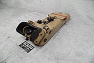 Vintage 12x60 Aluminum Body Navy Vessel Binoculars BEFORE Chrome-Like Metal Polishing and Buffing Services - Aluminum Polishing - Binocular Polishing
