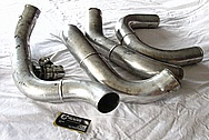 Aluminum Toyota Supra Blow Off Valve BEFORE Chrome-Like Metal Polishing and Buffing Services