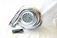 Ford Mustang Aluminum ATI Procharger Blower / Supercharger AFTER Chrome-Like Metal Polishing and Buffing Services