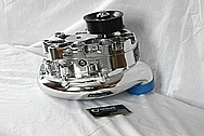 Vortech Aluminum Supercharger AFTER Chrome-Like Metal Polishing and Buffing Services / Resoration Services