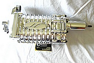 Eaton M62 Aluminum Blower / Supercharger AFTER Chrome-Like Metal Polishing and Buffing Services / Restoration Services