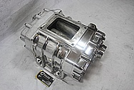 Aluminum Tractor Blower / Supercharger AFTER Chrome-Like Metal Polishing and Buffing Services / Restoration Services
