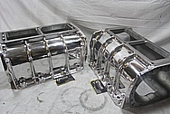 Large, 671 High Performance Blowers / Superchargers AFTER Chrome-Like Metal Polishing and Buffing Services / Restoration Services