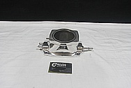 Aluminum Blower / Supercharger Piece AFTER Chrome-Like Metal Polishing and Buffing Services / Restoration Services
