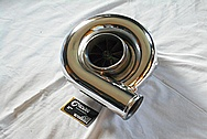 Paxton Novi 2000 Aluminum Blower / Supercharger AFTER Chrome-Like Metal Polishing and Buffing Services / Restoration Services / Custom Painting Services
