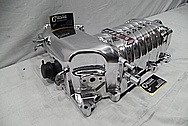 Ford Mustang Aluminum VMP Supercharger Blower / Supercharger AFTER Chrome-Like Metal Polishing and Buffing Services / Restoration Service