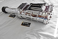 B&M Ford Aluminum Blower / Supercharger AFTER Chrome-Like Metal Polishing - Aluminum Polishing - Metal Polishing
