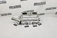 671 Size Aluminum Blower AFTER Chrome-Like Metal Polishing and Buffing Services - Aluminum Polishing Services - Blower Polishing