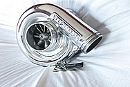 Ford Mustang V8 Aluminum Blower / Supercharger AFTER Chrome-Like Metal Polishing and Buffing Services