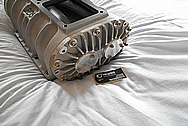 BDS Aluminum Blower / Supercharger BEFORE Chrome-Like Metal Polishing and Buffing Services / Restoration Services