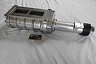 B&M Ford Aluminum Blower / Supercharger BEFORE Chrome-Like Metal Polishing - Aluminum Polishing - Metal Polishing