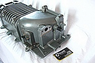 2003 Ford Mustang Cobra Eaton M112 Aluminum Blower / Supercharger BEFORE Chrome-Like Metal Polishing and Buffing Services