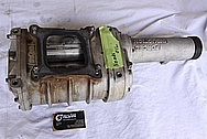 Forced Induction Aluminum Blower / Supercharger BEFORE Chrome-Like Metal Polishing and Buffing Services / Resoration Services