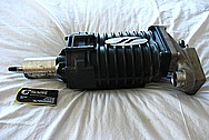 Eaton M62 Aluminum Blower / Supercharger BEFORE Chrome-Like Metal Polishing and Buffing Services / Restoration Services