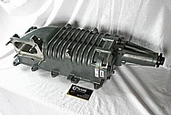 Ford Mustang SVT Aluminum Blower / Supercharger BEFORE Chrome-Like Metal Polishing and Buffing Services / Restoration Services