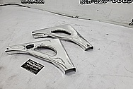 1963 Steel Boat Parts AFTER Chrome-Like Metal Polishing and Buffing Services - Steel Polishing - Boat Polishing