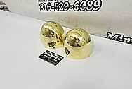 Brass & Aluminum Boat Project AFTER Chrome-Like Metal Polishing and Buffing Services - Aluminum Polishing - Boat Polishing