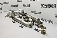 Boat Parts BEFORE Chrome-Like Metal Polishing and Buffing Services - Boat Polishing