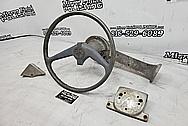 1958 Aluminum Boat Parts BEFORE Chrome-Like Metal Polishing and Buffing Services - Aluminum Polishing - Boat Polishing
