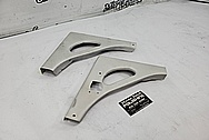 1963 Steel Boat Parts BEFORE Chrome-Like Metal Polishing and Buffing Services - Steel Polishing - Boat Polishing