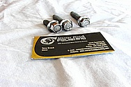 2005 Chevy Corvette Steel Bolts / Hardware AFTER Chrome-Like Metal Polishing and Buffing Services