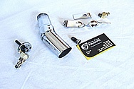 Blower / Supercharger Bracket and Hardware AFTER Chrome-Like Metal Polishing and Buffing Services / Resoration Services