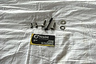 Steel Supercharger Blower Bolts / Hardware BEFORE Chrome-Like Metal Polishing and Buffing Services