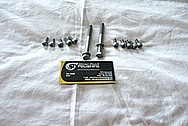 Steel Bolts / Hardware BEFORE Chrome-Like Metal Polishing and Buffing Services