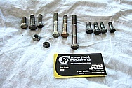 Stainless Steel Bolts / Hardware BEFORE Chrome-Like Metal Polishing and Buffing Services