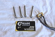 Steel Hardware / Bolts BEFORE Chrome-Like Metal Polishing and Buffing Services / Resoration Services
