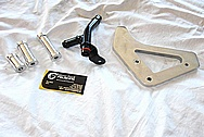 1950 Led Sled Mercury Bracket and Hardware BEFORE Chrome-Like Metal Polishing and Buffing Services / Resoration Services