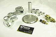 Chevrolet ZL-1 V8 Steel & Aluminum Hardware BEFORE Chrome-Like Metal Polishing and Buffing Services