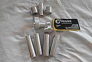 Aluminum Hardware Pieces BEFORE Chrome-Like Metal Polishing - Aluminum Polishing Services