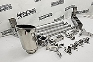 Steel Truck Brackets / Tubes / Bars / Links / Gen Y Hitches Project AFTER Chrome-Like Metal Polishing and Buffing Services / Restoration Services - Wheel Polishing - Steel Polishing