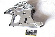 1997 - 2004 Chevrolet C5 Corvette LS1 Aluminum Bracket AFTER Chrome-Like Metal Polishing and Buffing Services