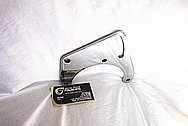 1976 Chevy Corvette Stainless Steel AC Compressor Brackets AFTER Chrome-Like Metal Polishing and Buffing Services