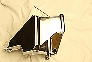 V8 Steel Bracket AFTER Chrome-Like Metal Polishing and Buffing Services