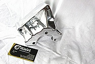 2010 Chevy Silverado 1500 Series 454 LSX Steel Alternator and AC Compressor Brackets AFTER Chrome-Like Metal Polishing and Buffing Services / Restoration Services