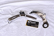 Mazda RX7 Steel Alternator Brackets AFTER Chrome-Like Metal Polishing and Buffing Services / Restoration Services