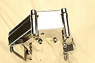 Ford Mustang Blower Bracket AFTER Chrome-Like Metal Polishing and Buffing Services
