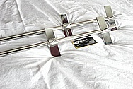 Stainless Steel Rod Brackets AFTER Chrome-Like Metal Polishing and Buffing Services / Restoration Services