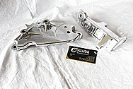 Nissan GTR Aluminum and Steel Brackets AFTER Chrome-Like Metal Polishing and Buffing Services / Restoration Services