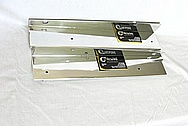 Aluminum Bracket Pieces AFTER Chrome-Like Metal Polishing and Buffing Services / Restoration Services