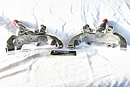 1950 Mercury Lead Sled Steel Brackets AFTER Chrome-Like Metal Polishing and Buffing Services / Restoration Services