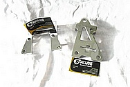 1950 Mercury Lead Sled Aluminum Pump Brackets AFTER Chrome-Like Metal Polishing and Buffing Services / Restoration Services